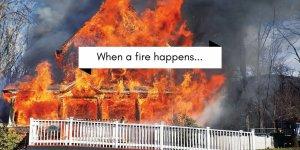 Handling a fire loss